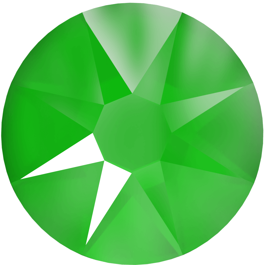 Crystal Electric Green