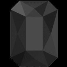 EMERALD JET BLACK 8 db 10 PCS HF