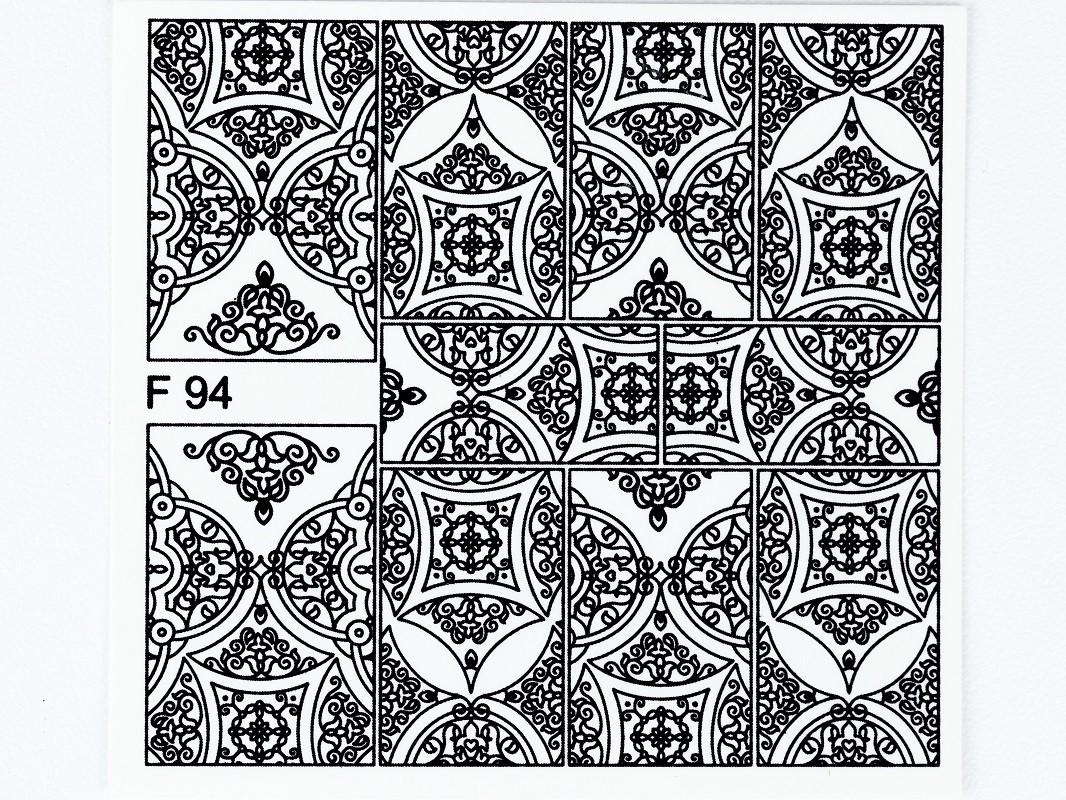 Matrica F94 BLACK