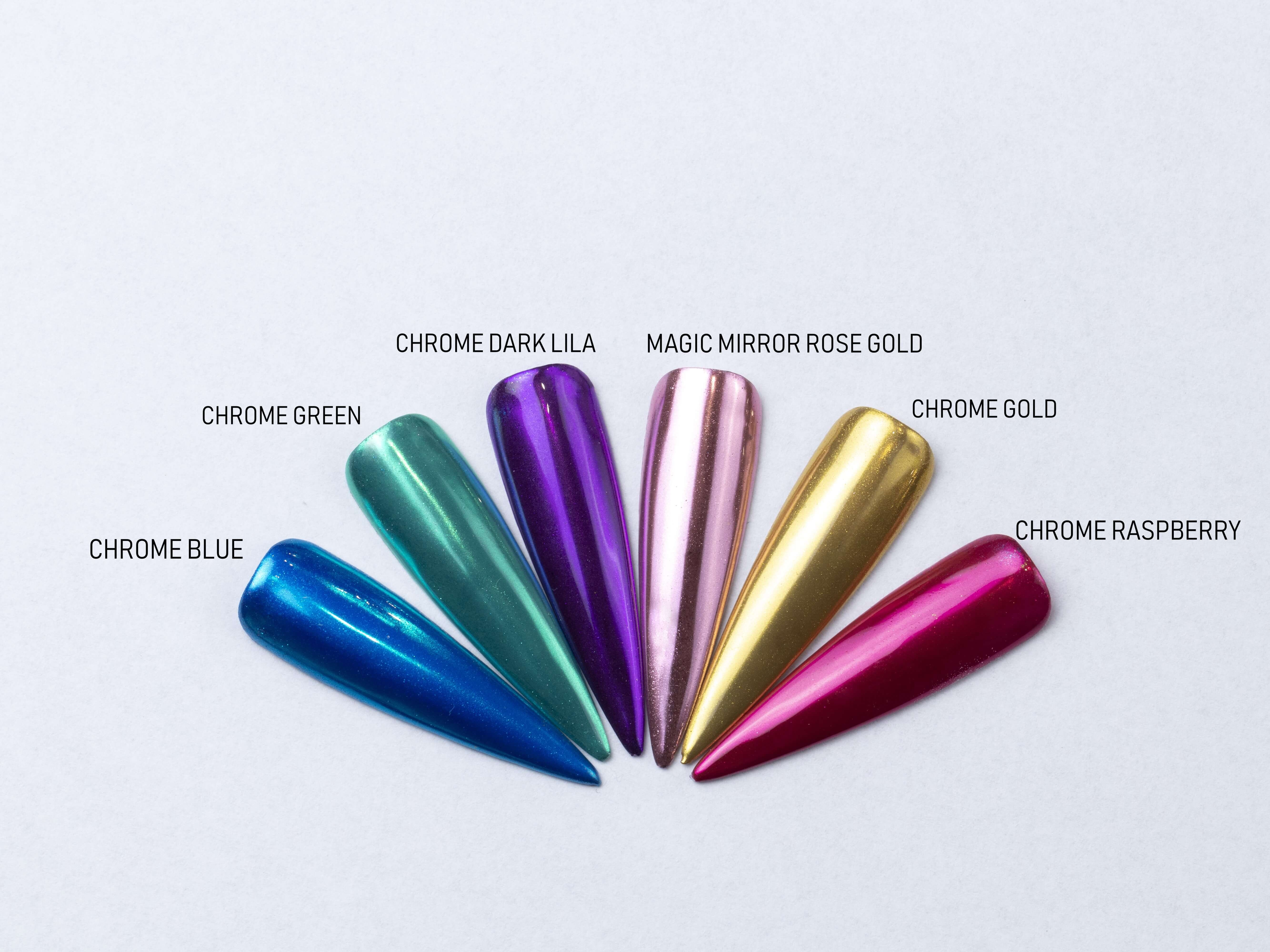 Chrome pigment Dark lila