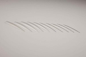 Nail art tip CLEAR XXL