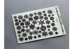 3D matrica 089 BLACK